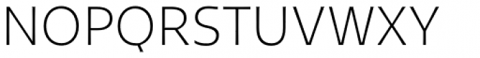 Tikal Sans Light Font UPPERCASE