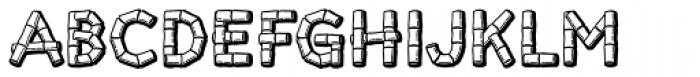 Tiki Font LOWERCASE