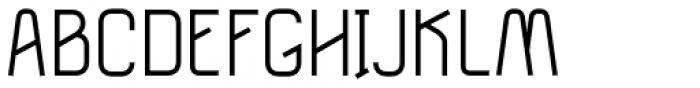 Tilda Light Font UPPERCASE