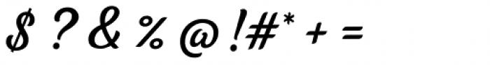 Tilda Script Regular Non-connect Font OTHER CHARS