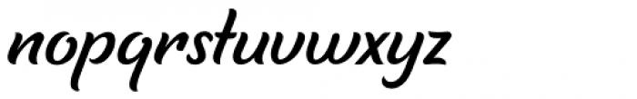 Tilda Script Regular Non-connect Font LOWERCASE