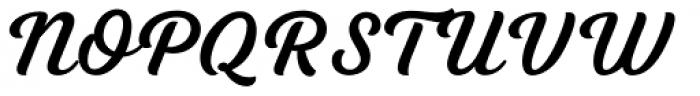 Tilda Script Semibold Font UPPERCASE