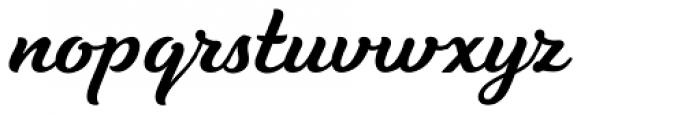 Tilda Script Semibold Font LOWERCASE