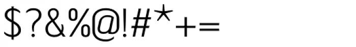 Tilden Sans Light Font OTHER CHARS