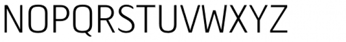 Tilden Sans Light Font UPPERCASE