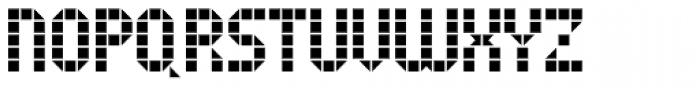 Tiler JNL Font UPPERCASE