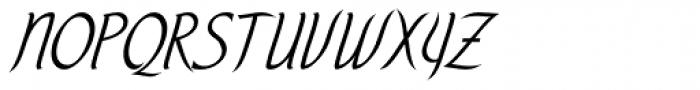 Tilo EF Font UPPERCASE