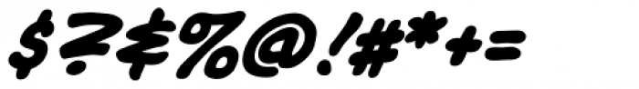 Tim Sale Lower Bold Italic Font OTHER CHARS