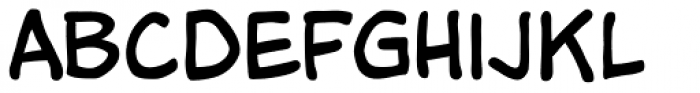 Tim Sale Font LOWERCASE