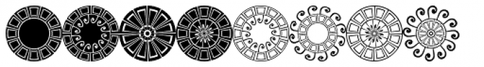 TimePiece One Font UPPERCASE