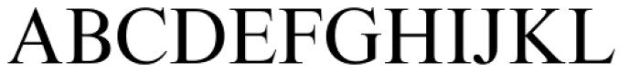Times Eighteen Roman Font UPPERCASE