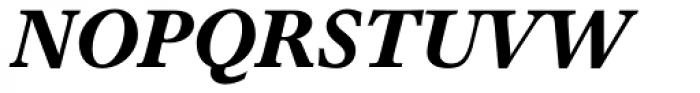 Times Europa Bold Italic Font UPPERCASE