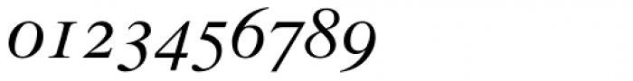 Times Italic Old Style Figures Font OTHER CHARS