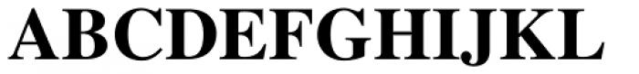 Times LT Std Bold Font UPPERCASE