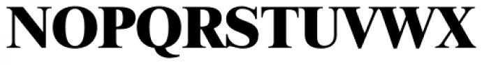 Times LT Std ExtraBold Font UPPERCASE