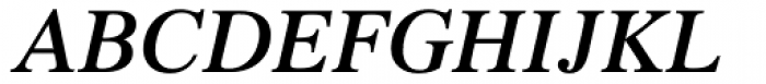 Times LT Std SemiBold Italic Font UPPERCASE