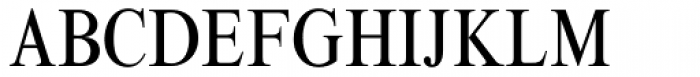Times New Roman Condensed Font UPPERCASE