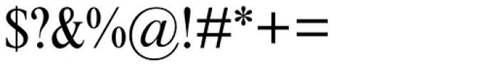 Times New Roman MT Std Cond Font OTHER CHARS