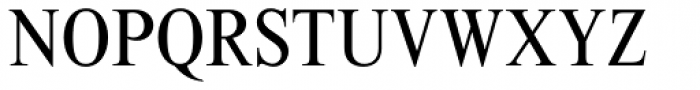Times New Roman MT Std Cond Font UPPERCASE