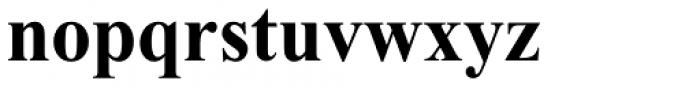 Times New Roman OS Bold Font LOWERCASE