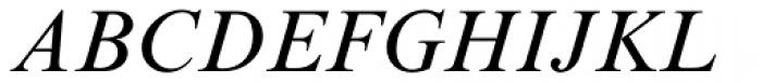 Times New Roman PS Italic Font UPPERCASE