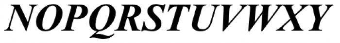 Times New Roman PS Pro Bold Italic Font UPPERCASE