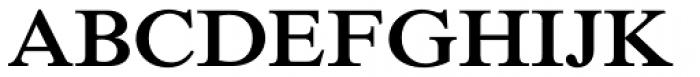 Times New Roman Pro SemiBold Font UPPERCASE