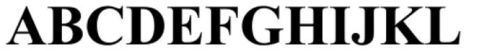 Times New Roman WGL Bold Font UPPERCASE