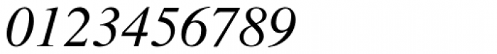 Times Pro Italic Font OTHER CHARS