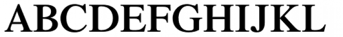 Times Pro SemiBold Font UPPERCASE