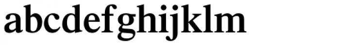 Times Pro SemiBold Font LOWERCASE