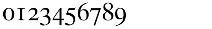 Times Ten Roman Oldstyle Figures Font OTHER CHARS