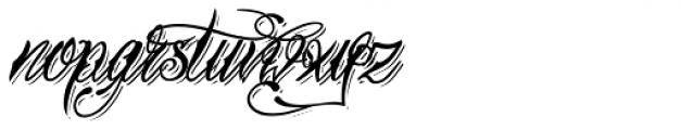 Tinka Babe Bold Shadow Italic Font LOWERCASE