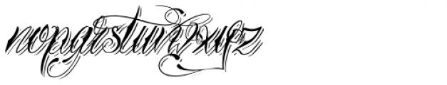 Tinka Babe Shadow Italic Font LOWERCASE