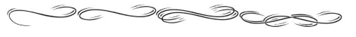 Tinka Babe Swash Banner Font LOWERCASE