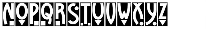 Tintern Abbey NF Font UPPERCASE