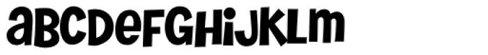 Tiny Butler PB Font LOWERCASE