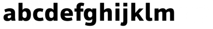 Tioga Bold Font LOWERCASE