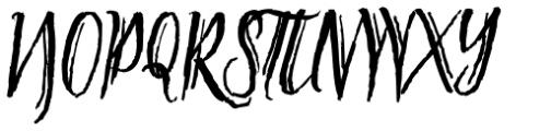 Tipbrush Script 2 Font UPPERCASE