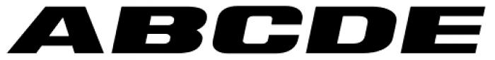 Tipemite Italic Font UPPERCASE