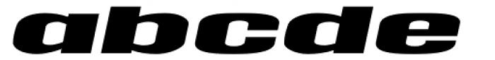 Tipemite Italic Font LOWERCASE