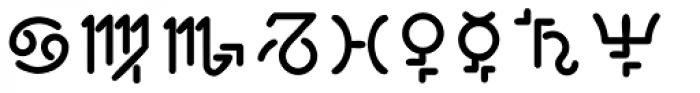 Tips LT Std Astro Font UPPERCASE