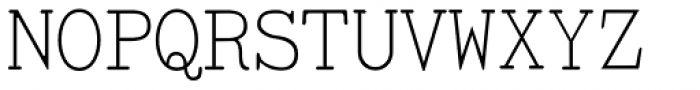 TiredOfCourier Thin Font UPPERCASE