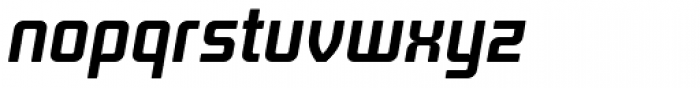 Titan Bold Italic OT Font LOWERCASE