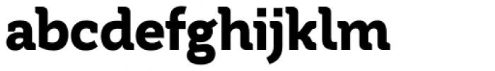 Tithua Bold Font LOWERCASE