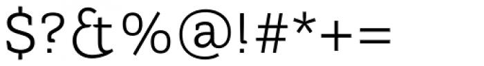 Tithua Light Font OTHER CHARS