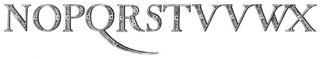 Titivilus Versalete Font UPPERCASE