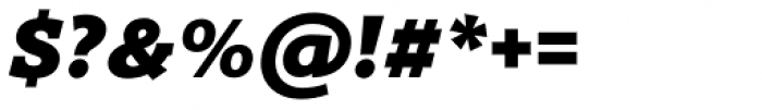 Titla Brus Black Italic Font OTHER CHARS