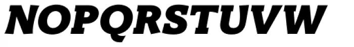 Titla Brus Black Italic Font UPPERCASE