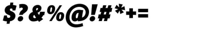 Titla Brus Condensed Black Italic Font OTHER CHARS